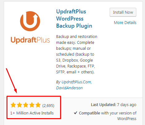 plugin backup wordpress updraftplus