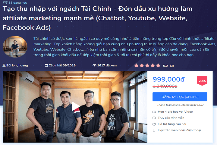 kiếm tiền affiliate marketing tại ktcity